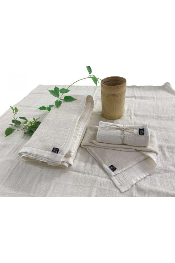 KHĂN MẶT LỤA 3 LỚP (3 LAYERS SILK FACE TOWEL)