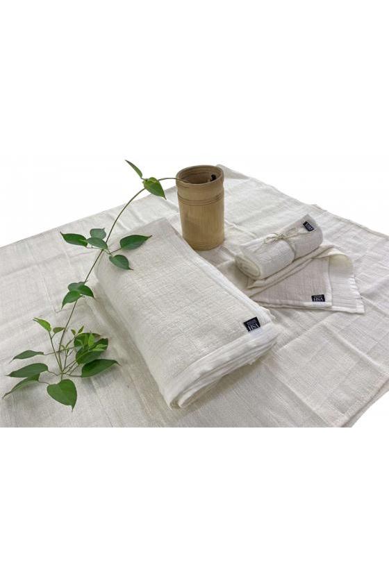 KHĂN MẶT LỤA 2 LỚP (2 LAYERS SILK FACE TOWEL)